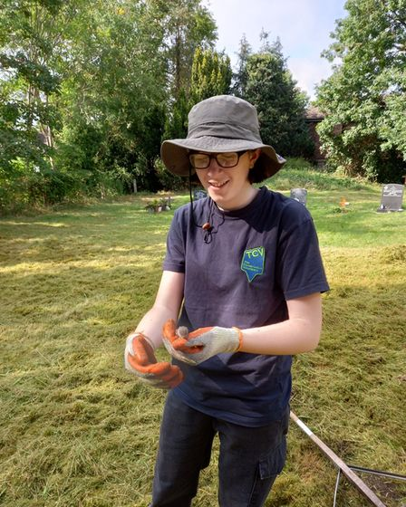 Young Volunteers are encouraged to get involved, particularly if they seek a career in conservation.
