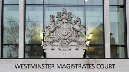 Westminster Magistrates' Court in London.