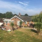 The bungalow near Lowestoft is for sale with Brown & Co