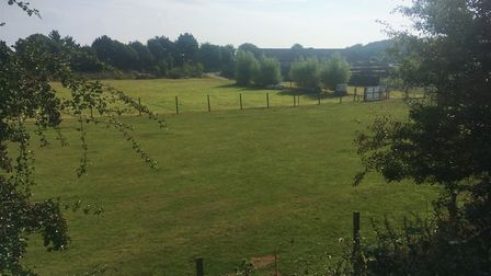 The overall size of the property is five acres, including the bungalow and outbuildings