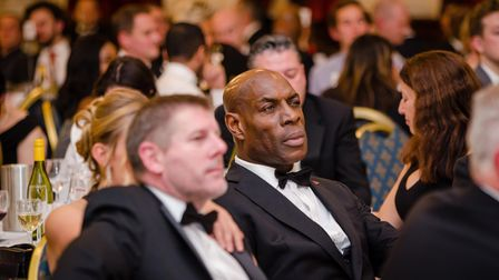 Frank Bruno at the Newham Chamber of Commerce business awards. Picture: Ilyas Ayub