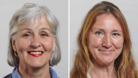 Residents for Uttlesford councillors Petrina Lees and Louise Pepper
