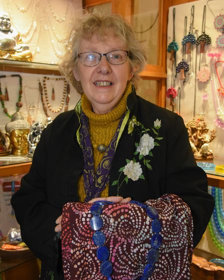 Anne Allen, owner of Raphael on St Benedicts Street in Norwich. Picture: Danielle Booden