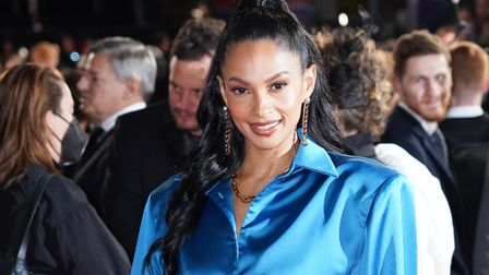 Alesha Dixon arrives for The Harder They Fall world premiere at the Royal Festival Hall during the BFI London Film Festival.