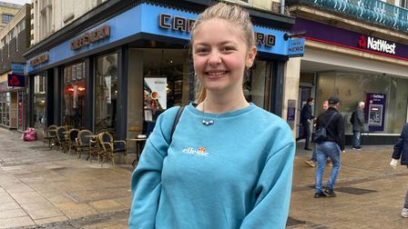 DaisyDaisy Parker, 19, recently started studying in Norwich and said she loves the cocktails at Jive, on Exhange Street.