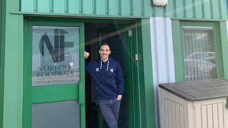 Paul Suggitt, the owner and founder of NorfolkFootball