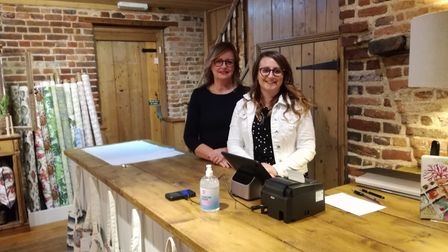 Mother and daughter team Stephanie and Michelle Witts have opened Witts Design on Timber Hill in Norwich.