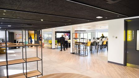 Inside the new Adastral Park research facility