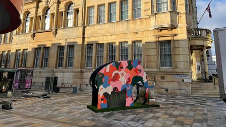 The diversity and inclusion mammoth in Ilford Town Centre