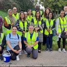 Parents and Supporters of Hatton walked 10k in September 2021 to raise funds for the minibuses.