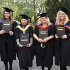 University of Suffolk at East Coast College Lowestoft campus graduation 2018. Pictures: Mick Howes