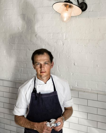 James Lowe, chef and owner of Lyle's in Shoreditch.