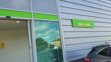 The temporary Jobcentre Plus, located on Davidson Way, opened its doors to customers last week.