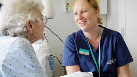 Patient care from Isabel Hospice