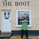 Louis Andrews is the new head chef at the Freston Boot.