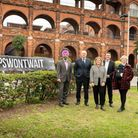 MPs and council leaders from Redbridge and Waltham Forest gather to launch the Whipps Won't Wait campaign