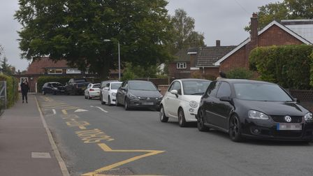 There have been issues with parking for those living in Recreation Ground Road in Sprowston