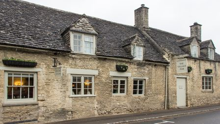 The Village Pub, Barnsley is one of our favourite cosy Cotswold pubs
