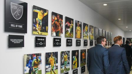 The Hall of Fame at the Lotus Training Centre in Norwich. Picture: Danielle Booden
