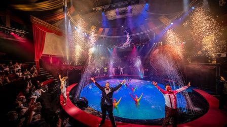 The finale of the Hippodrome Circus' Summer Spectacular 2021