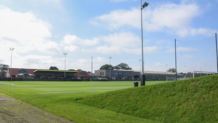 Training pitches at the Lotus Training Ground in Norwich. Picture: Danielle Booden