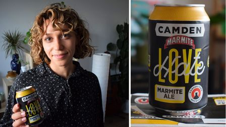 Sally Patterson tries Camden Brewery's Marmite Ale