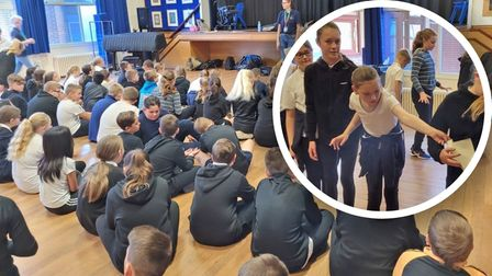 Marshland High pupils write poem for late Red Arrows pilot