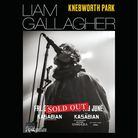 Liam Gallagher's two Knebworth Park shows have sold out.