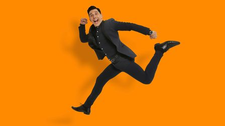 Russell Kane to perform in Huntingdon in December.