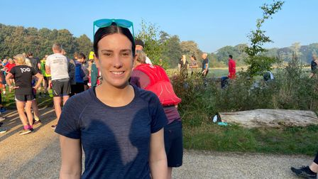 Runner Chloe Harcourt from Old Catton