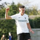 Brandon Adams says he definitely bagged five for Royston Town in their 7-1 win over St Ives.