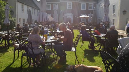 The Assembly House Norwich on a sunny October day. Pictures: Brittany Woodman