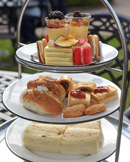 Assembly House norwich afternoon tea. Pictures: Brittany Woodman