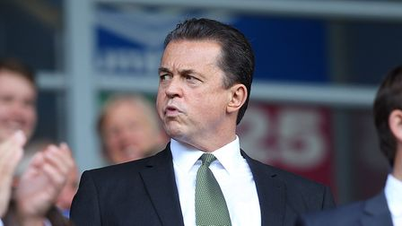 Norwich Chief Executive Jez Moxey before the Sky Bet Championship match at Ewood Park, BlackburnPi