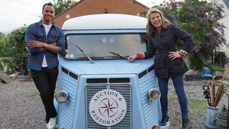 Will Kirk and Christina Trevanion will feature in a new BBC1 production called The Travelling Auctioneer