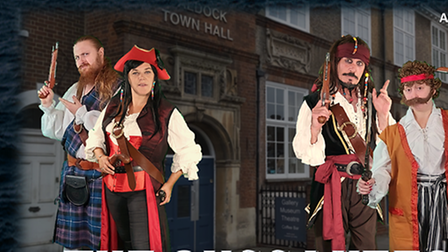 Pirates are coming to Baldock. You can see The Buccaneers at BaldockArts and Heritage Centre on Saturday,October 23.