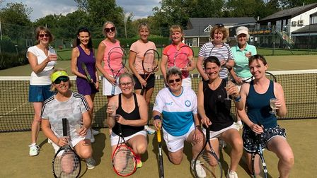 The Ladies of the Hemingfords Lawn Tennis Club ended the season on a high.