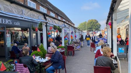 Hitchinites flocked to Arcade and West Alley Dayto celebrate businesses in the area