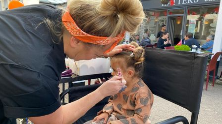From face painting and a record fair to lucky dips, there was something for everyone at Arcade and West Alley Day