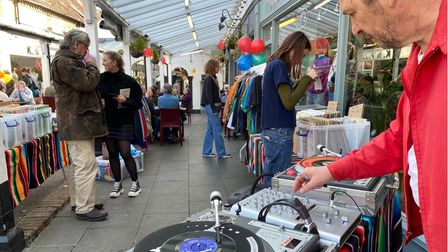 """Hitchin BID manager Tom Hardy said that Arcade & West Alley Day highlighted """"hardworking, passionate businesses"""""""