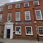 The Barclays bank branch in Aylsham, which is soon to close.