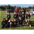 Yatton Gators with their new kits sponsored by JLS Design Services