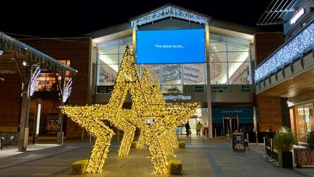 The Tunnel of Stars is returning to Chantry Place shopping centre in Norwich for Christmas 2021.