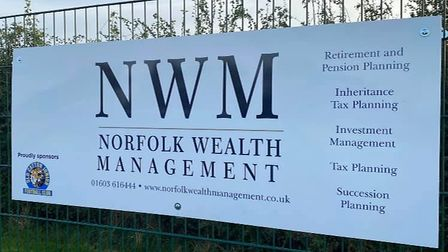 Old Catton JuniorFootball Club has had a cash injection from sponsors Norfolk Wealth Management