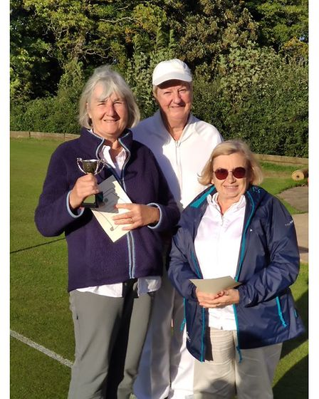Nailsea & District Croquet Clubtop three GC players.