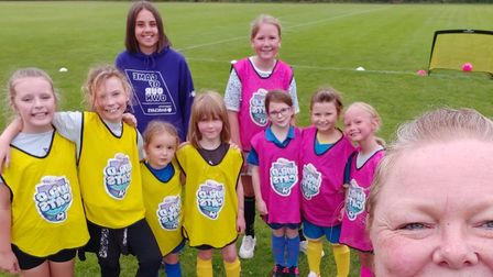 The Weetabix Wildcats team at Old Catton Junior Football Club