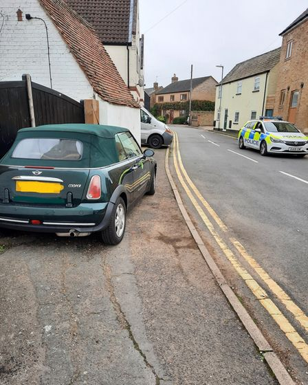 Police are cracking down on drivers parking on pavements