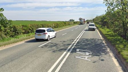 Man dies and another remains in hospital following three-car crash on the A47 near Wittering