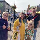 Crowds at Eat Nailsea food festival.