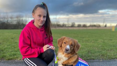 15-year-old Emily Rice from Gorefield has been shortlisted for a 'young person of the year award' at Young Kennel Club (YKC).